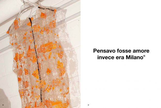 MSGM 10!A macramè top from the Men's Spring_Summer 2016 Collection, still by Ronni Campana. And a quote from the Women's Fall_Winter 2019 Collection