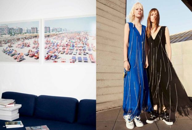 MSGM 10!Massimo Vitali at Massimo Giorgetti's apartment, by Ivan Grianti. And Spring_Summer 2016 Campaign, by Ben Toms