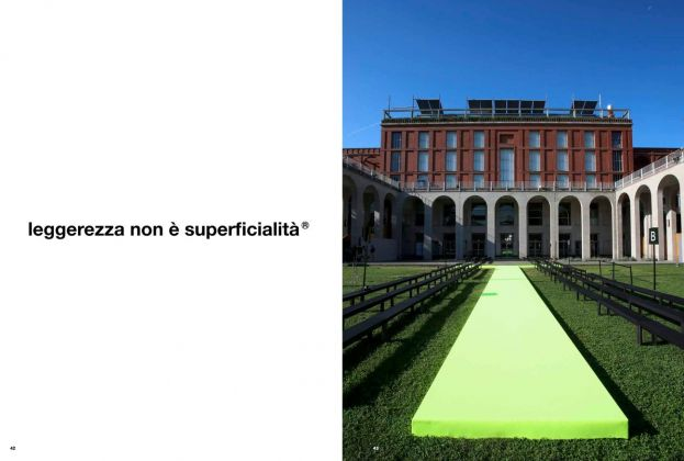 MSGM 10!Quote from the Resort 2019 Collection. The women's Spring_Summer 2020 venue, the Triennale Design Museum gardens in Milano, courtesy IDI.SHOW