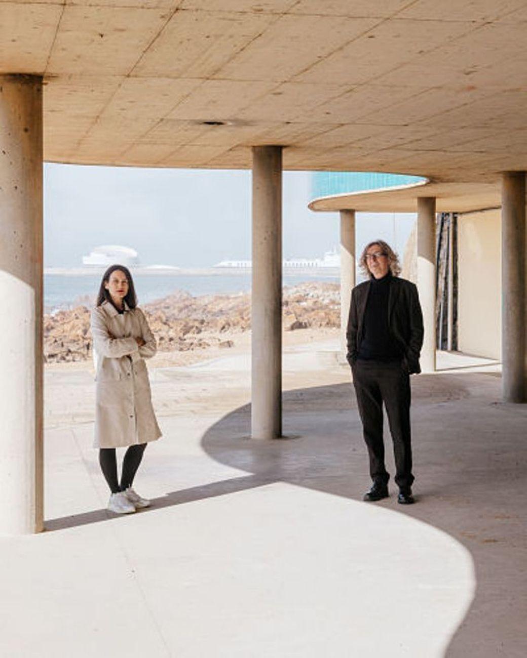 Magda Seifert e Alastair Fuad Luke. Courtesy Esad Idea. Photo Bruno Mesquita