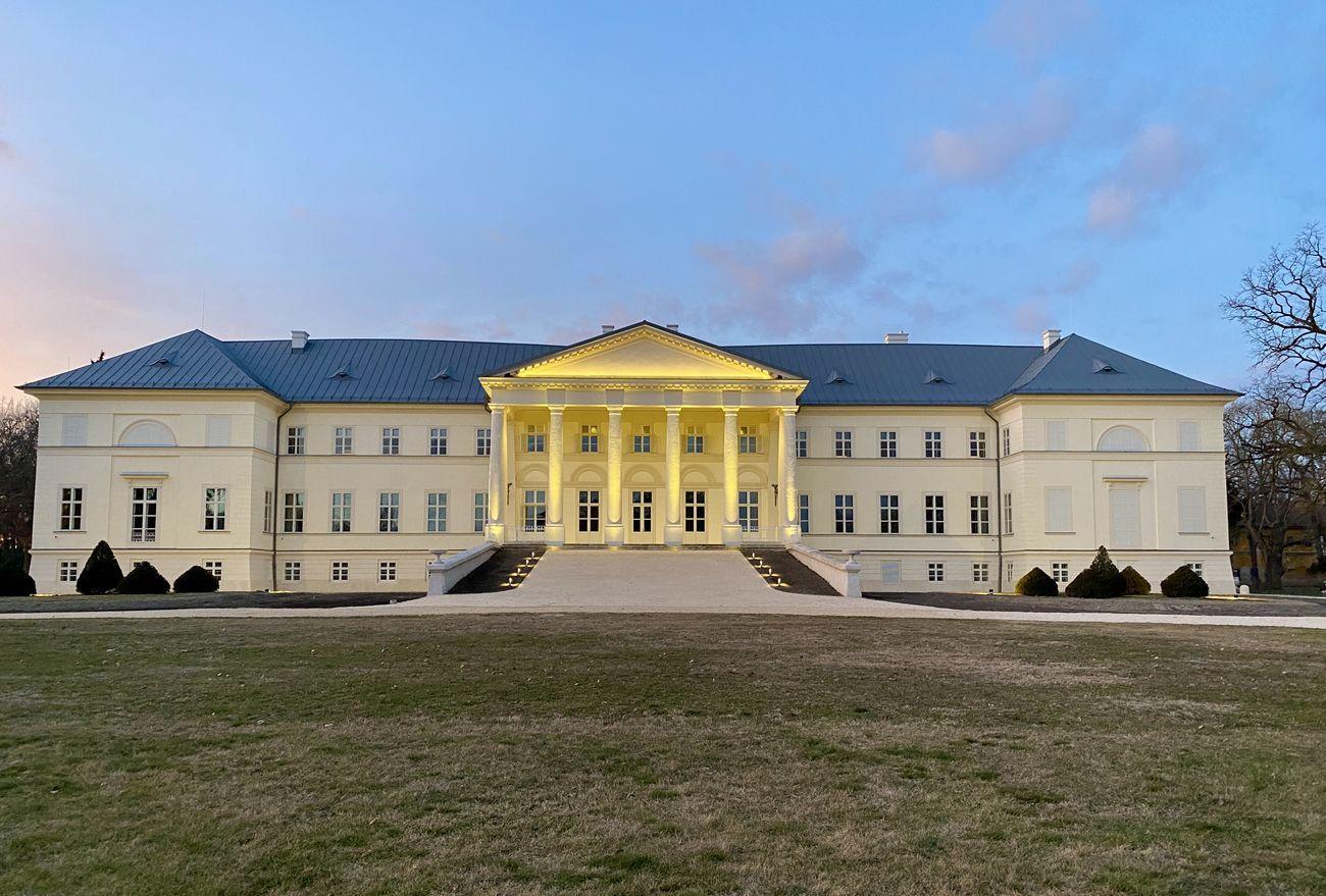 Mihály Pollack, Castello Festetich, Dég