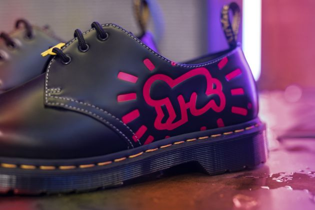 Dr. Martens x Keith Haring - Courtesy Dr. Martens