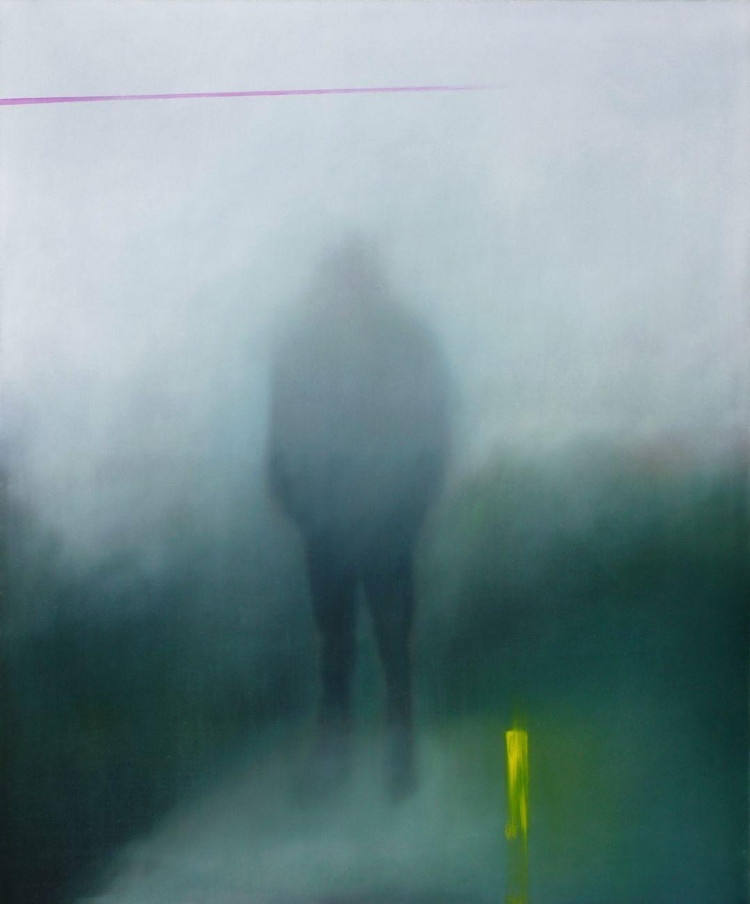 Samantha Torrisi, Untitled, 2021, olio su tela, 120x100 cm