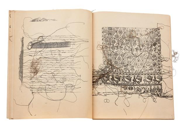 Sardegna, Maria Lai, Libro dei telai, 1979