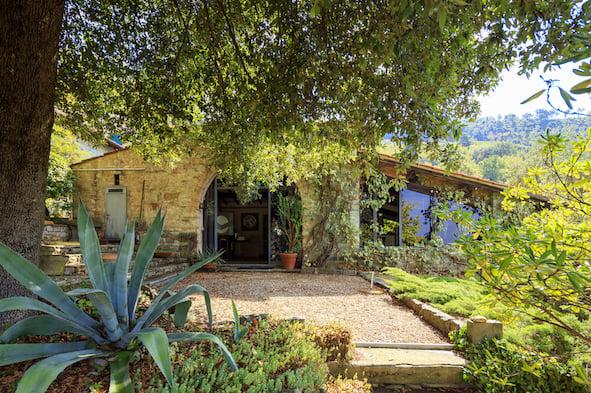 Villa dell'artista Diana Baylon a Fiesole - courtesy Sotheby's