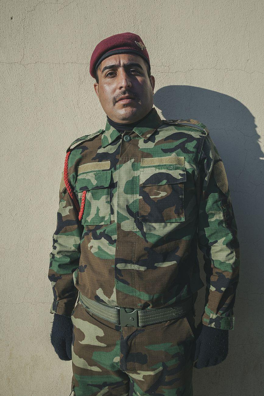 Stefano Sbrulli, Peshmerga