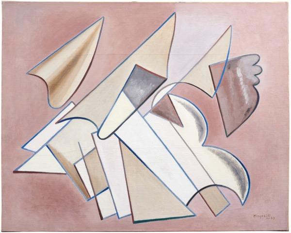 Toscana, Alberto Magnelli, Pittura, 1947