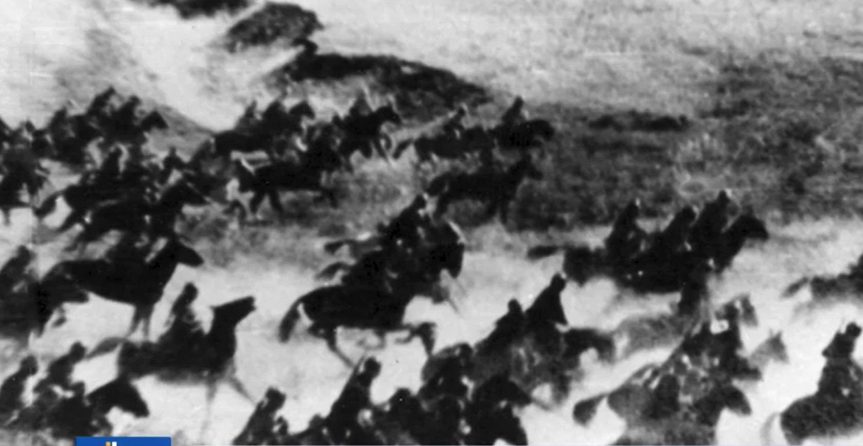 Uno scatto di Carlo Comello della Carica di Isbuscenskij