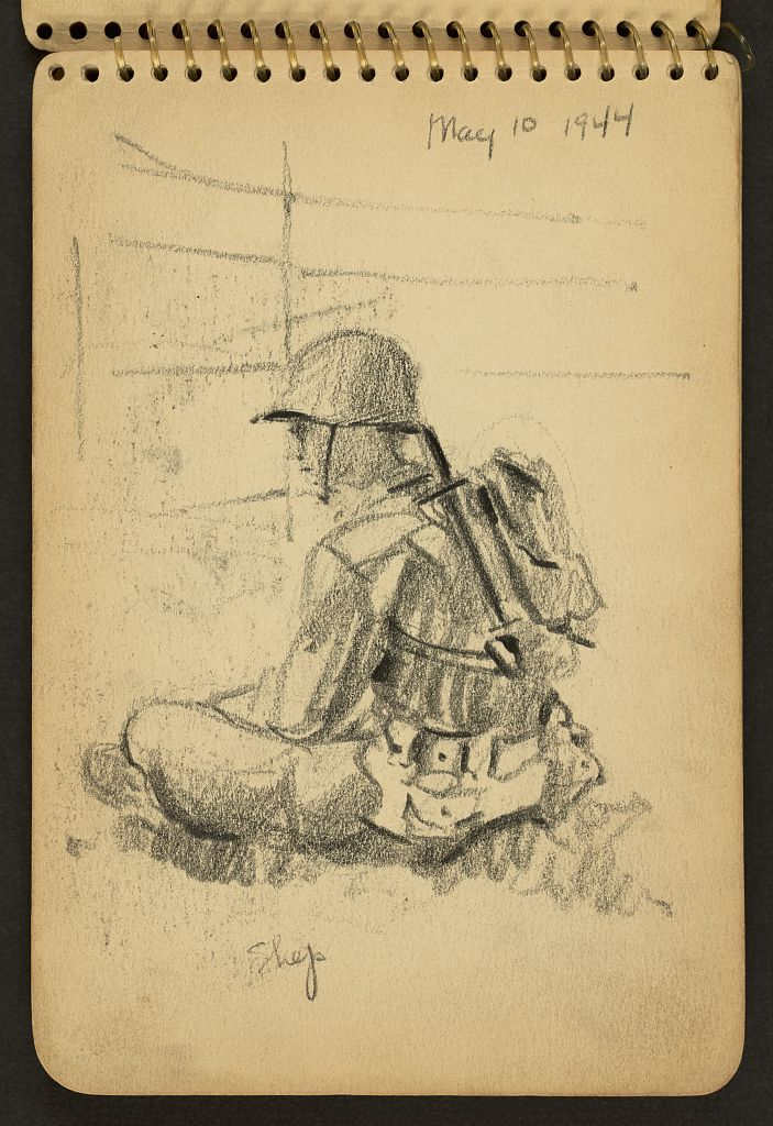 Victor A. Lundy, Shep, 10 maggio 1944