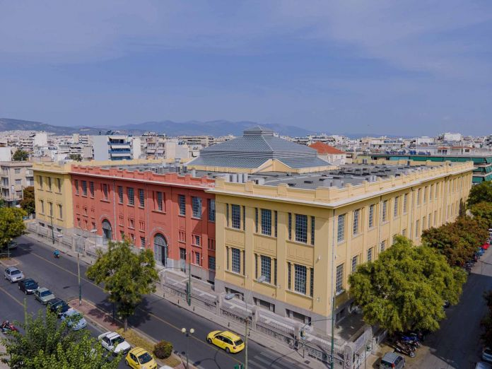 Former Public Tobacco Factory - Hellenic Parliament Library and Printing House   Photograph © Giorgos Charisis   Courtesy the Hellenic Parliament and NEON