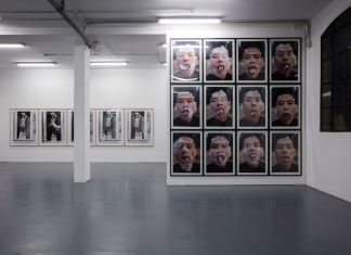 Zhang Huan. The Body as Language. Installation view at Galleria Giampaolo Abbondio, Milano 2020. Photo credits Antonio Maniscalco