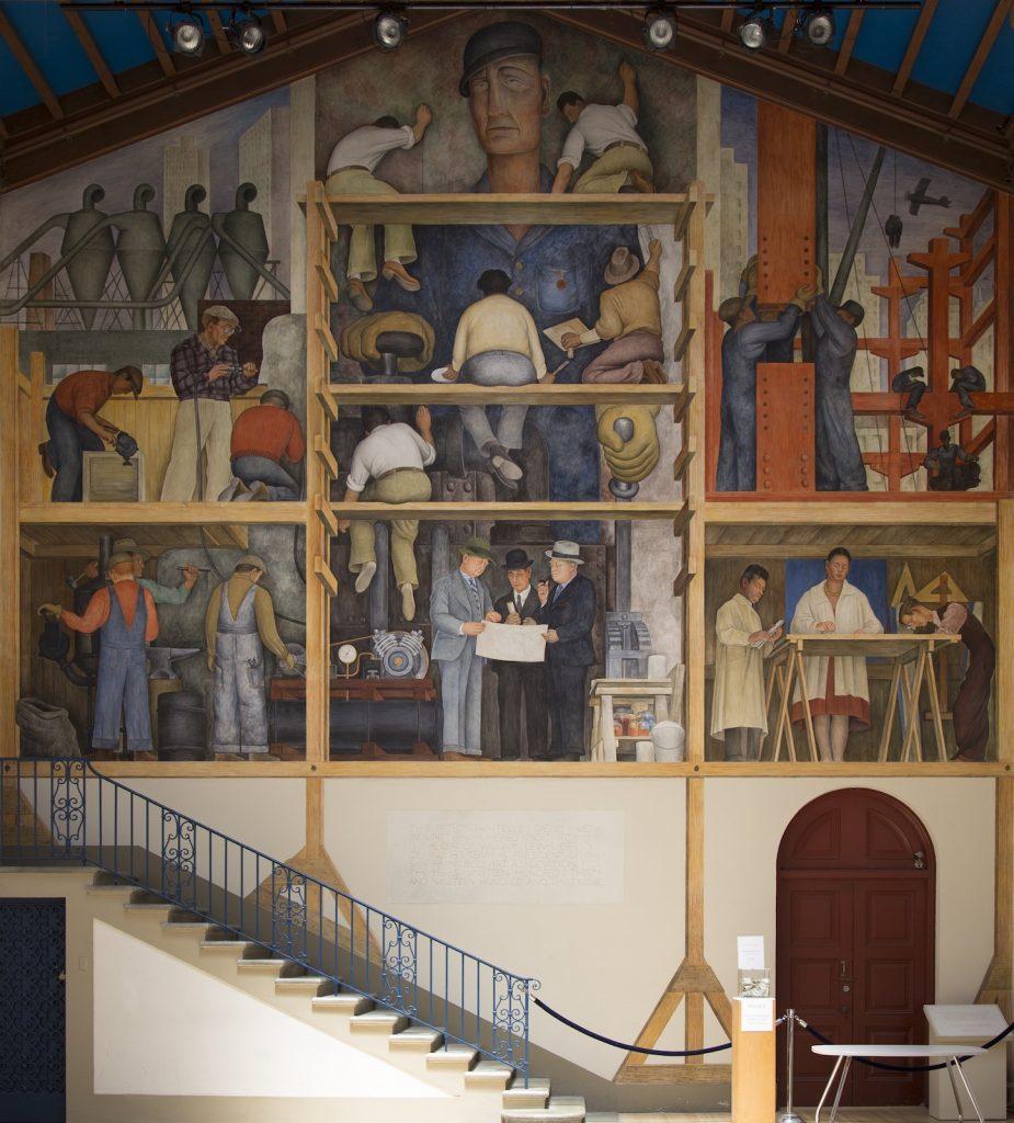 Murale di Diego Rivera al San Francisco Art Institute