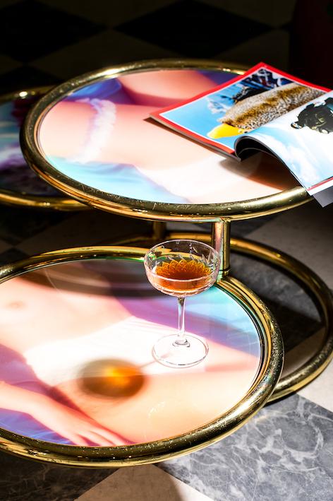 Caffè Faro e riviste di Edicola 518 da Contemporary Cluster Roma - Ph. Alberto Blasetti / www.albertoblasetti.com