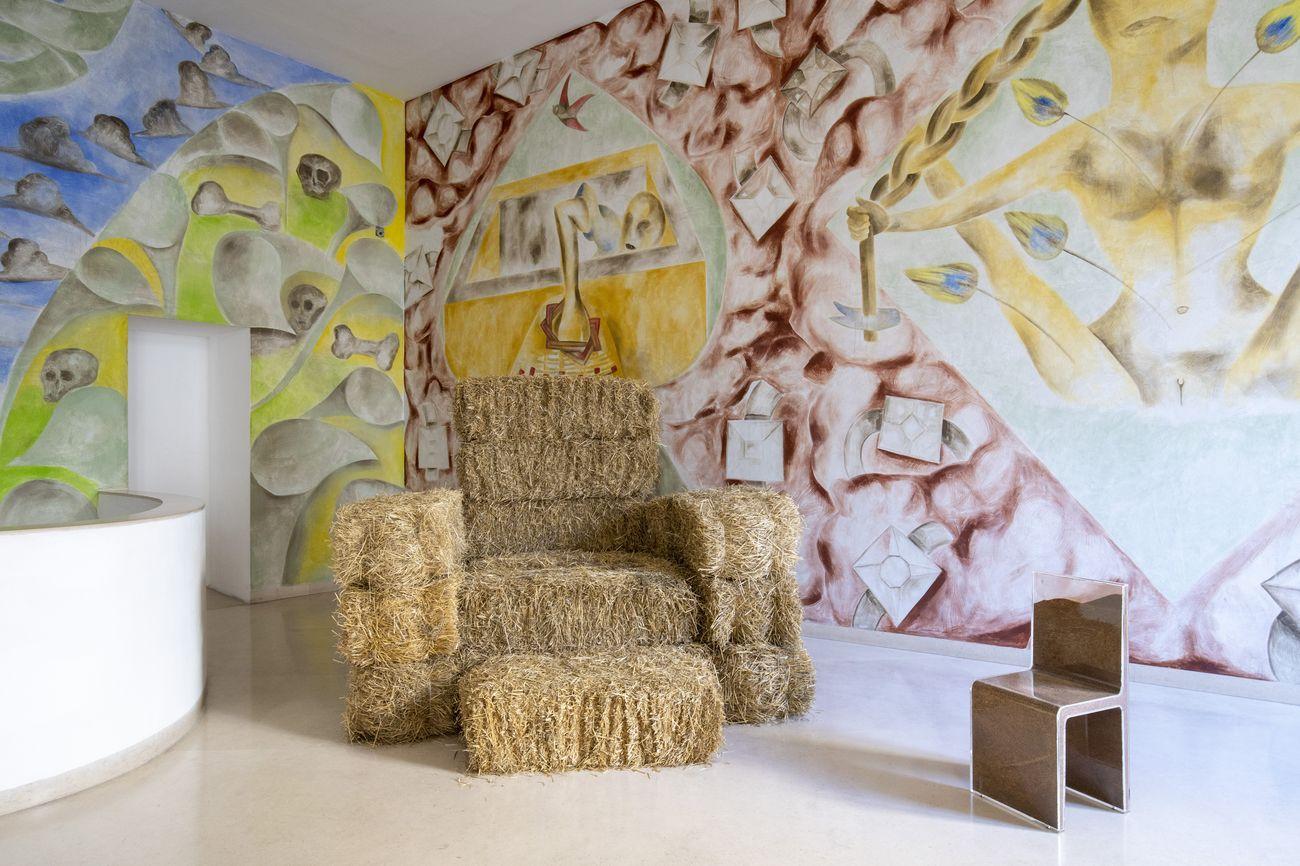 Alessandro Mendini. Piccole fantasie quotidiane, exhibition view at Madre, Napoli 2020. Photo Amedeo Benestante
