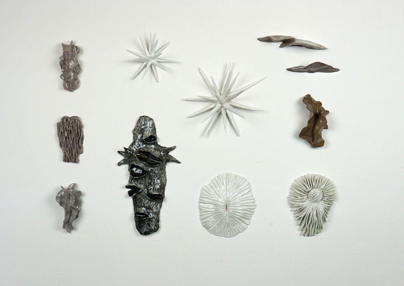 Anna Marzuttini, Senza titolo, 2020 in corso, ceramica, formati variabili