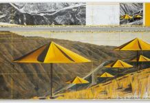 Christo The Umbrellas (joint project for Japan and Usa) 1991 Courtesy of Sotheby's
