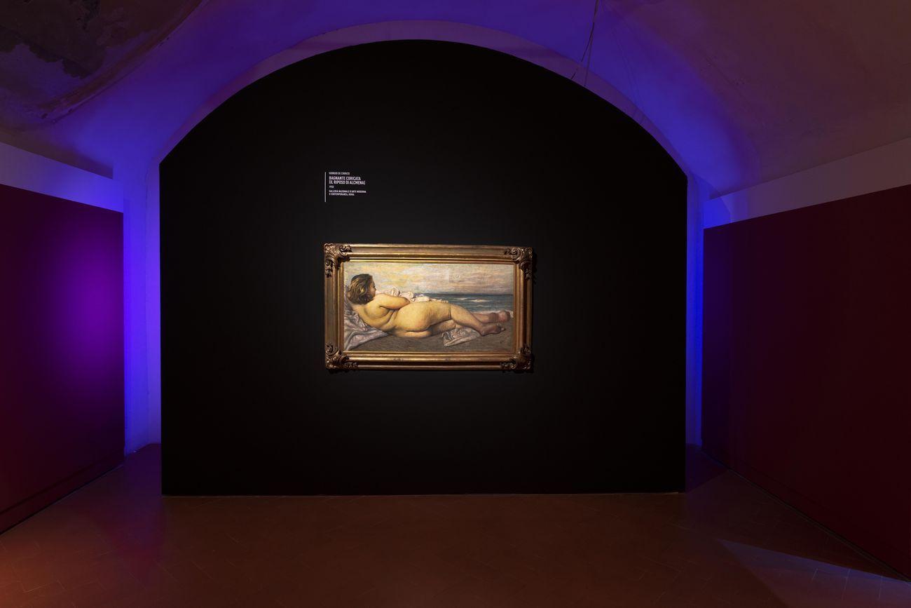 De Chirico e la Metafisica. Exhibition view at Palazzo Blu, Pisa 2021. Photo Nicola Gronchi