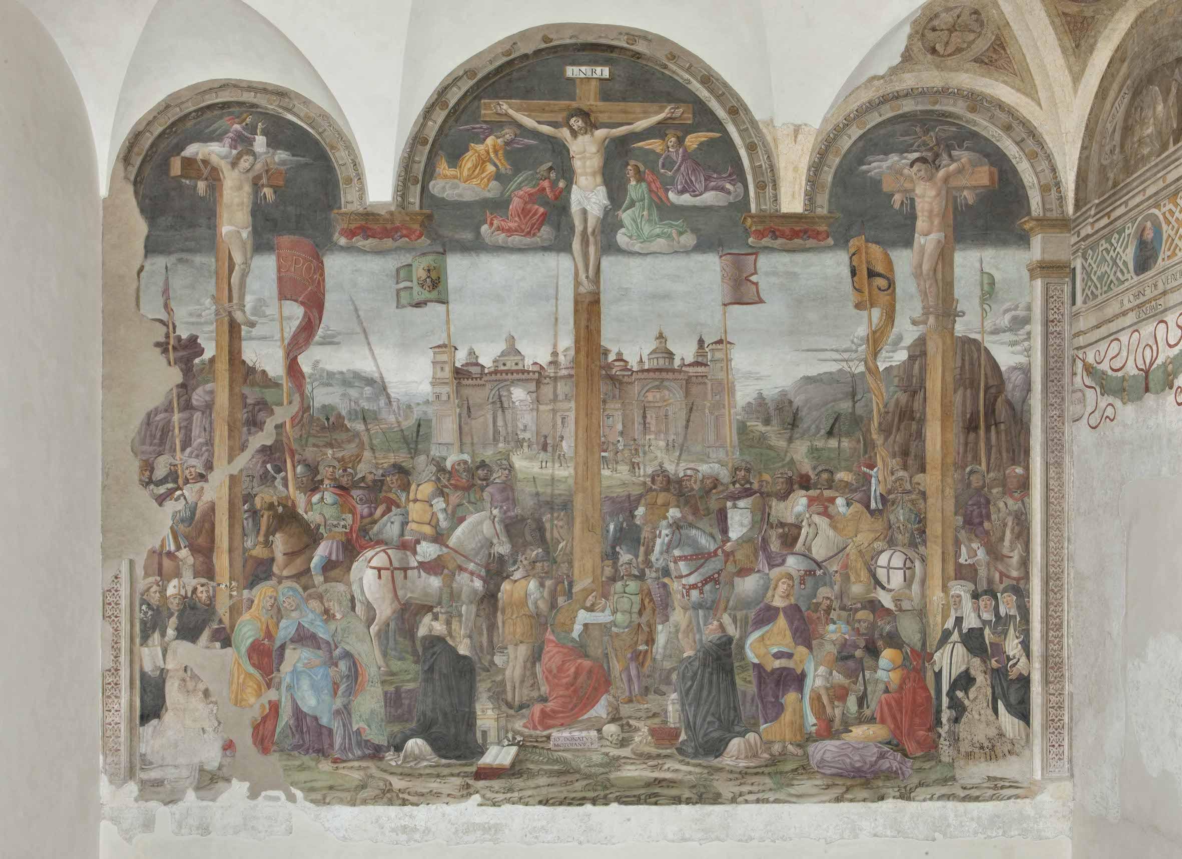 Donato Montorfano, Crocifissione