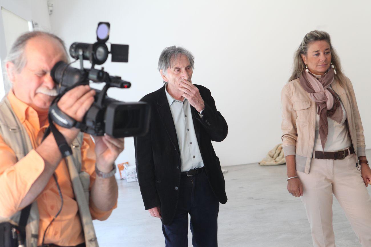 Giovanni Anselmo, Annamaria Maggi, Galleria Fumagalli, Bergamo, 2011. Photo courtesy Galleria Fumagalli