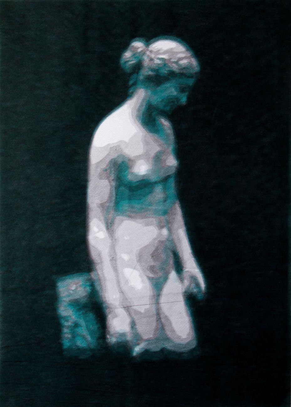 Green Clytie (Pagan Poetry), 2015, Giorgio Tentolini, Diacronie, Galleria Russo, Roma