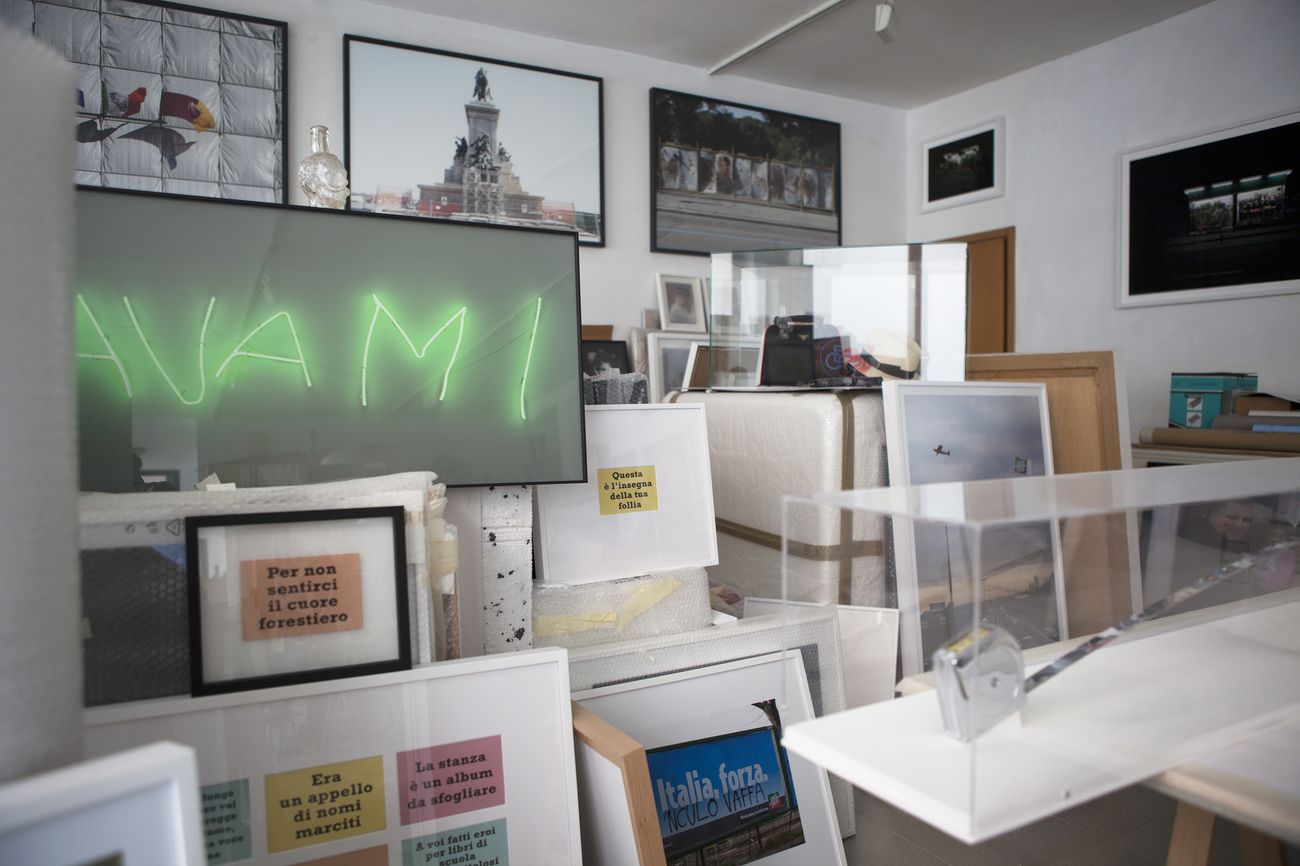Iginio De Luca, Il mio studio, 2021, fotografia digitale