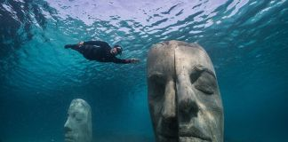 Inaugurato a Cannes il museo subacqueo di Jason Decaires Taylor courtesy of jason decaires taylor