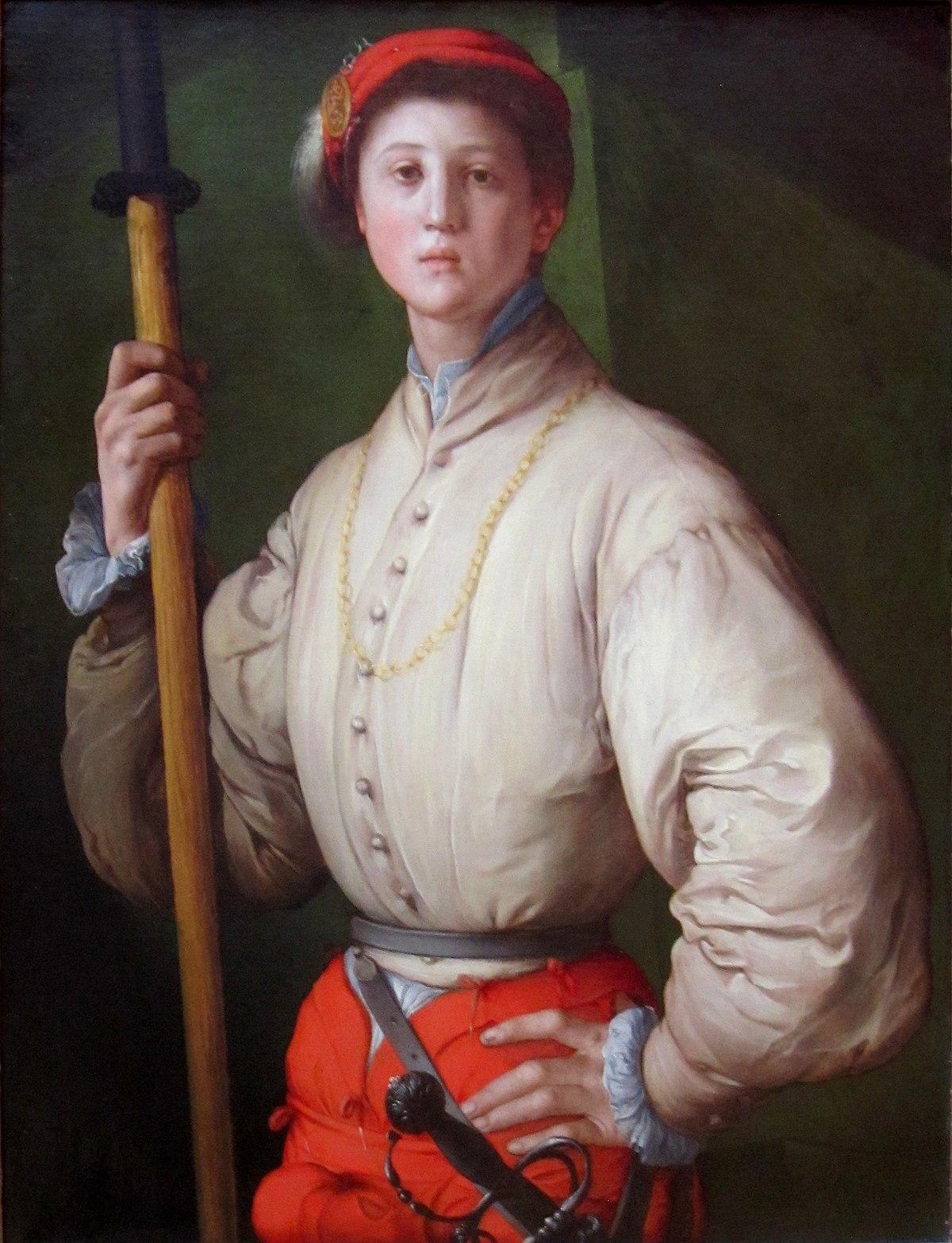 Jacopo Pontormo, l'Alabardiere