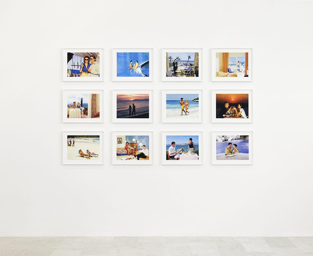 Joachim Schmid, Meetings, 2003 07, 12 stampe a inchiostro pigmentato, cm 30x40 cad., ed. 3+1AP. Photo C. Favero