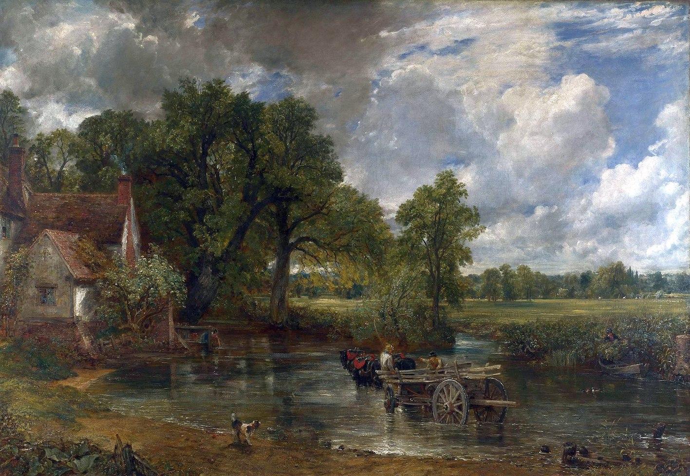 John Constable, Il carro da fieno