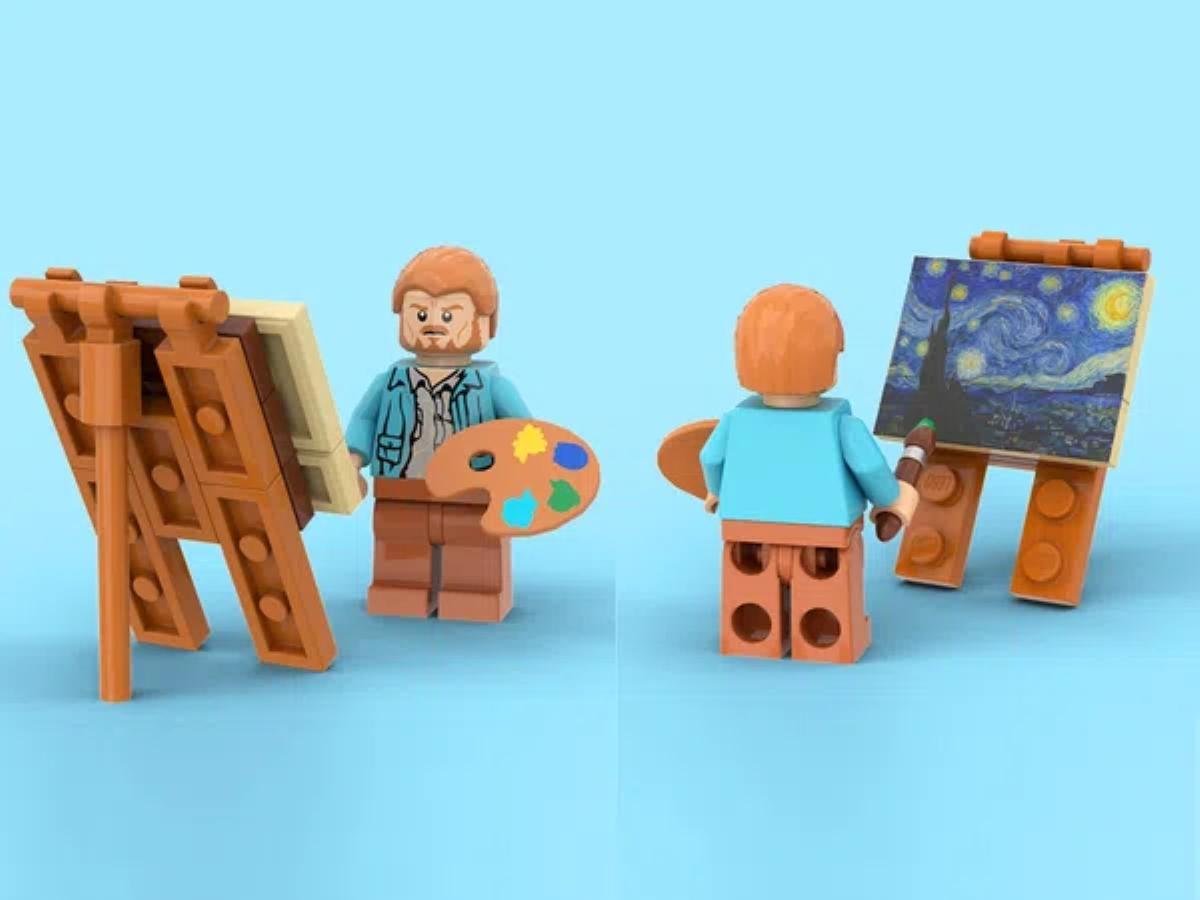 Lego - Notte stellata di Vincent van Gogh