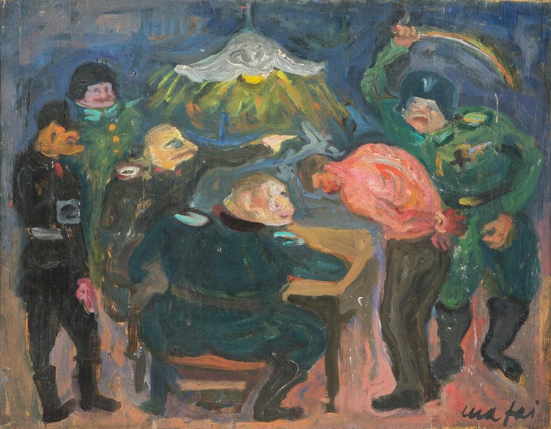 Mario Mafai, Interrogatorio