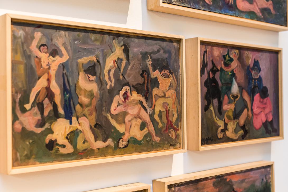 Mario Mafai, Le Fantasie, Pinacoteca di Brera