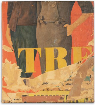 Mimmo Rotella Tre 1963 Courtesy of Sotheby's