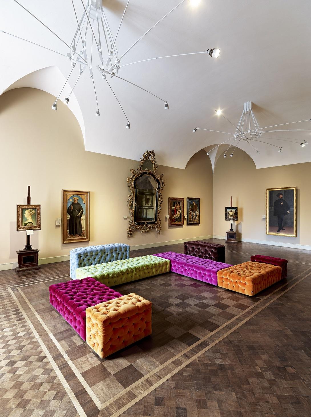 Museo Poldi Pezzoli, Salone Dorato © Meritalia, foto di Walter Gumiero