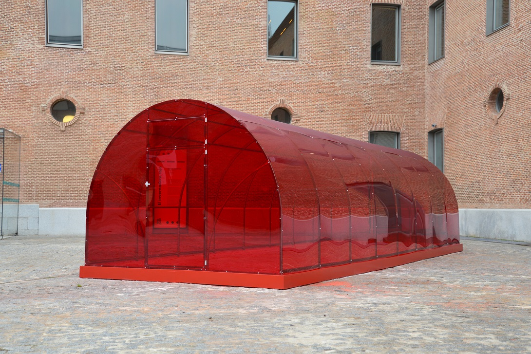 Patrck Hamilton, The Red Greenhouse, Conde Duque Madrid