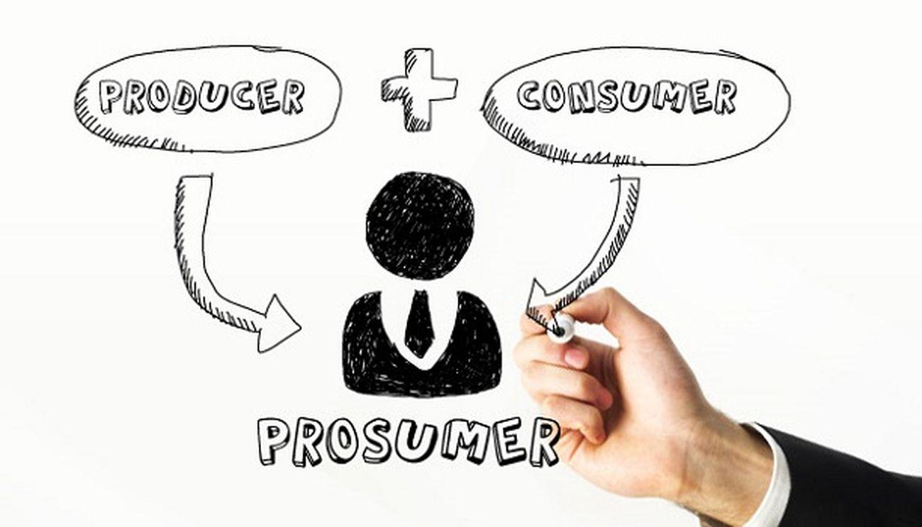Producer + Consumer = Prosumer