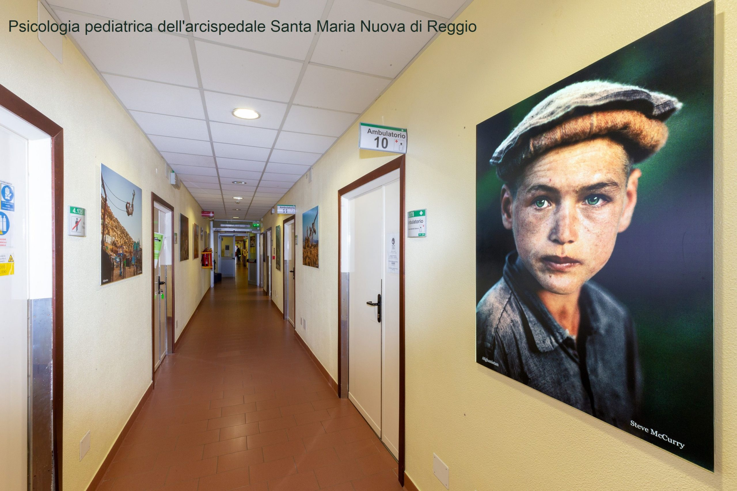 Psicologia Pediatrica all'Arcispedale Santa Maria Nuova, Reggio Emilia
