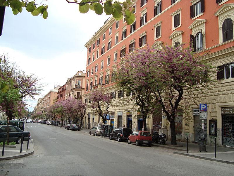 Quartiere San Lorenzo, Via Tiburtina, ph LPLT, fonte Wikipedia