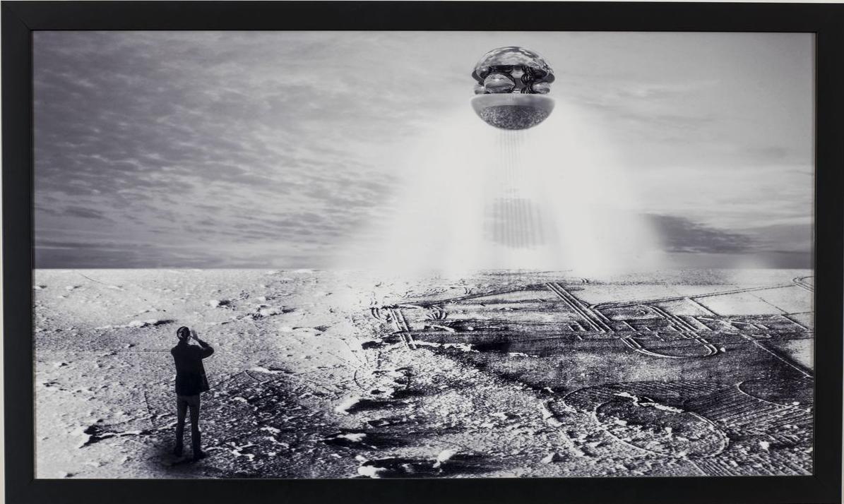Sarah Ciracì, Trebbiatori celesti, 2001, stampa fotografica, cm 56x80