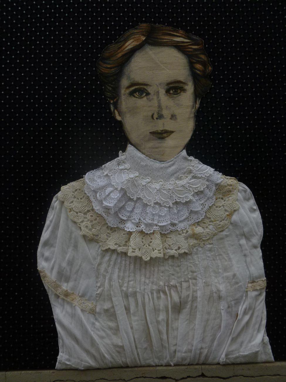 Silvia Zambarbieri - D'Iside, Ritratto di Henrietta Swan Leavitt, 2021. Courtesy Elisabeth Vermeer