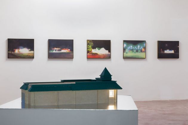 Tommy Malekoff, The Geography of Nowhere at ZERO..., Milan, 2021. Installation view. Courtesy of the artist and ZERO..., Milano. Photo credits Roberto Marossi