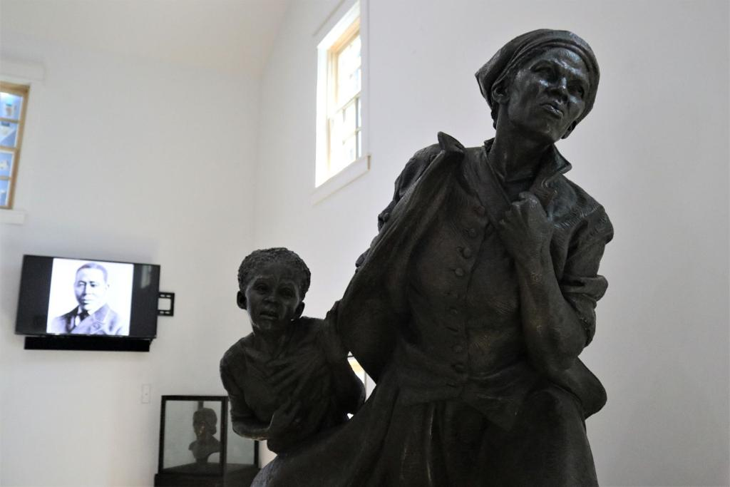 L'Harriett Tubman Museum. Courtesy Harriett Tubman Museum