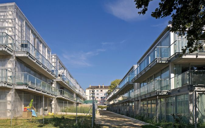 53 Units, Low Rise Apartments, Social Housing - Photo courtesy of Philippe Ruault