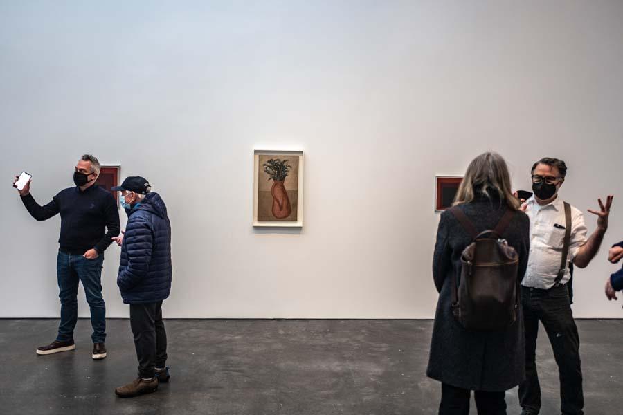 Albers e Morandi Never Finished, David Zwirner New York, ph. Francesca Magnani