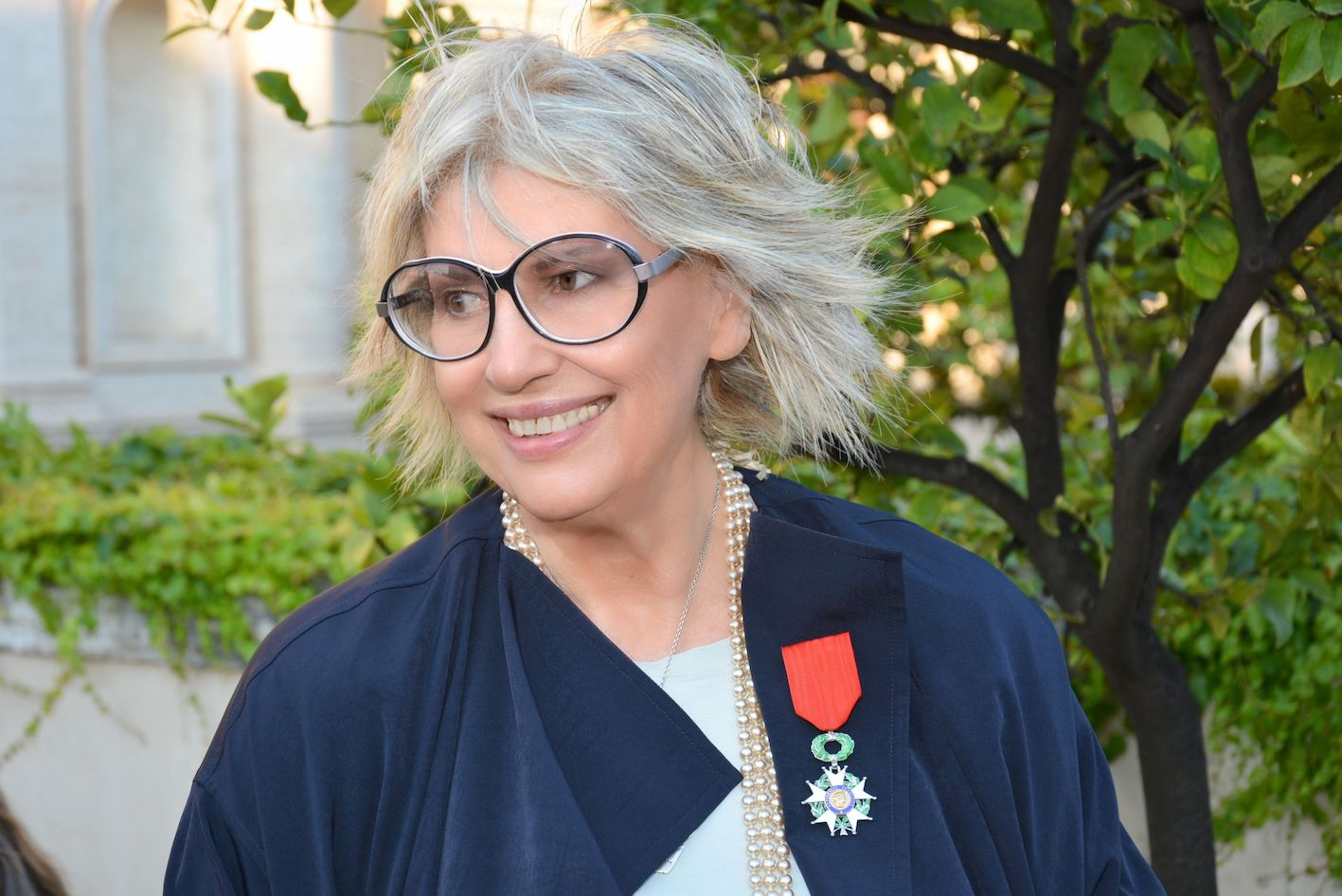 Alda Fendi, Legion d'Onore, ph. Carlo Bellincampi