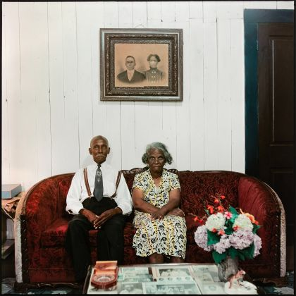 Alison Jacques Gallery, Gordon Parks_Mr. and Mrs. Albert Thornton, Mobile, Alabama, 1956