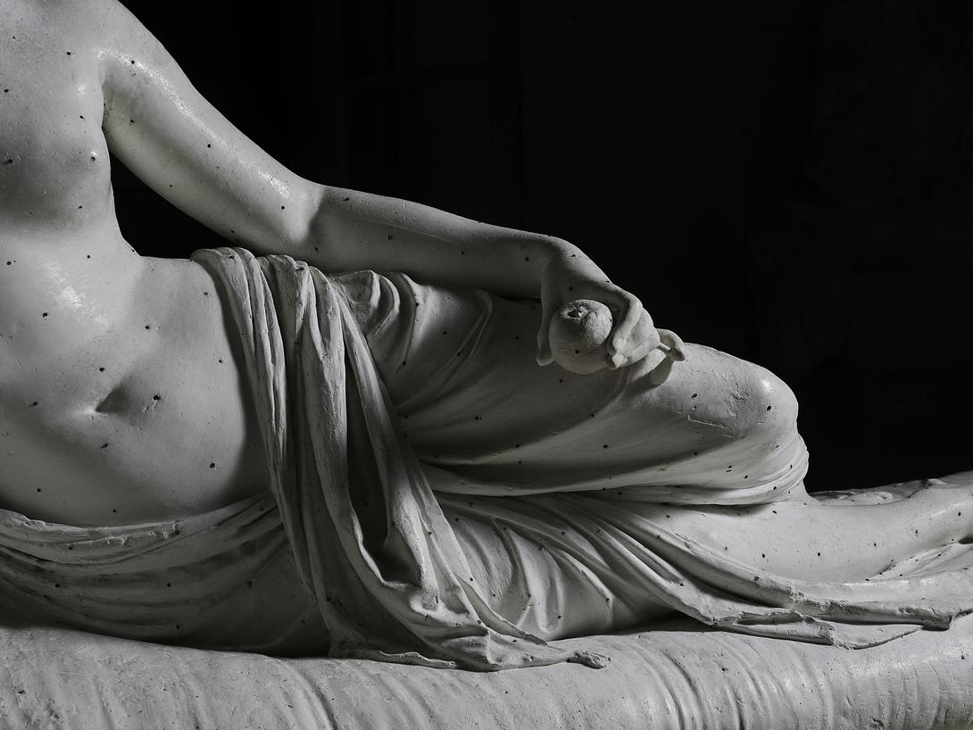 Antonio Canova, Paolina Borghese come Venere Vincitrice, 1804 1808, Gesso, Museo Gypsotheca Antonio Canova, Possagno Ph Lino Zanesco
