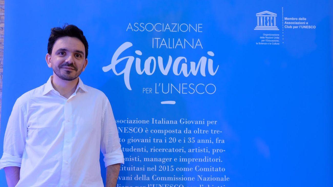 Antonio Libonati, presidente AIGU Associazione italiana Giovani UNESCO