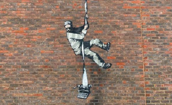 Banksy, Carcere di Reading