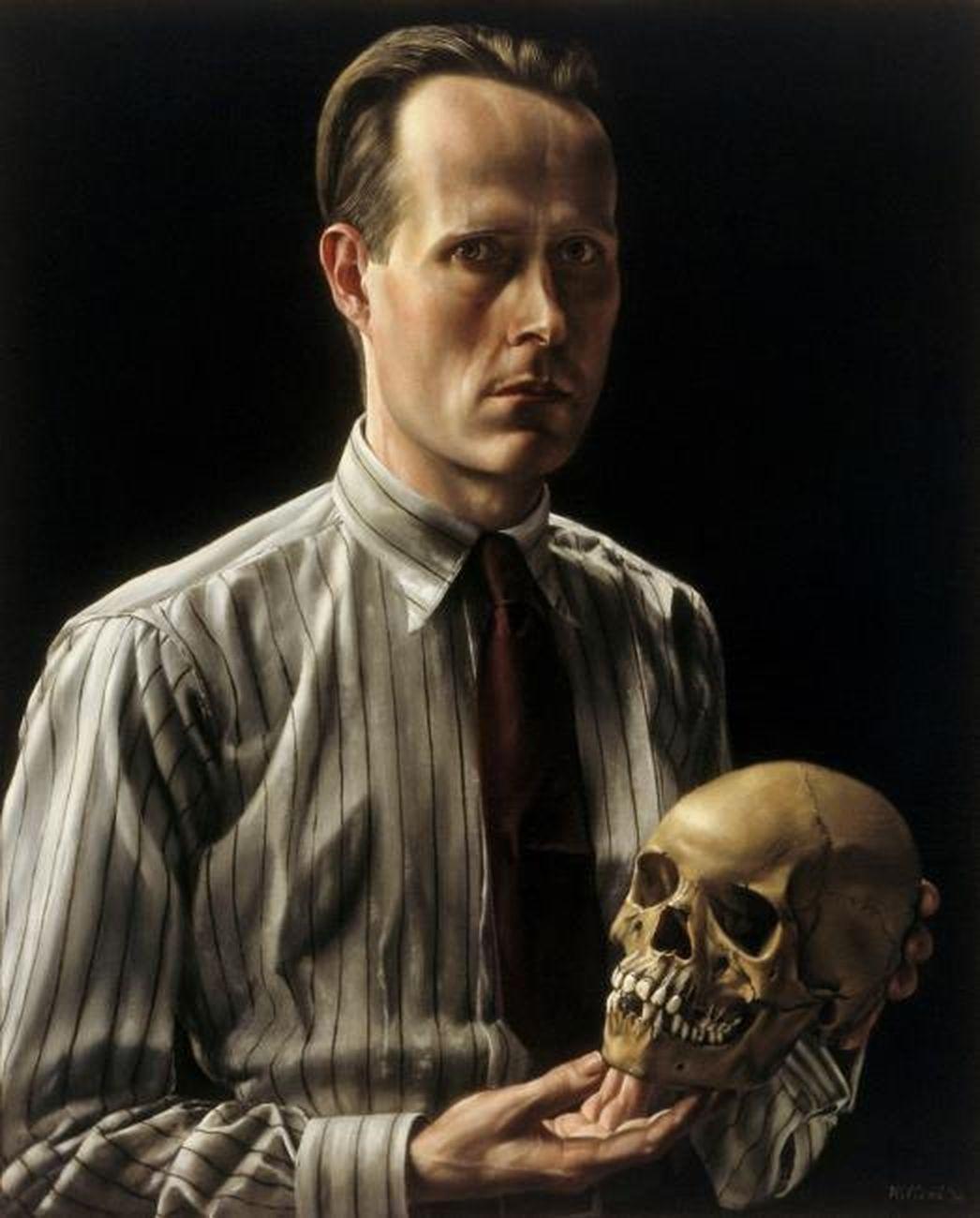 Carel Willink, Autoritratto con teschio, 1936